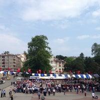 Photo taken at Cumhuriyet Meydanı by Nuh B. on 5/19/2013