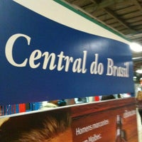 Photo taken at SuperVia - Central do Brasil Train Station by Henrique O. on 9/28/2012