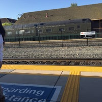 Photo taken at Santa Clara Caltrain Station by Savreet G. on 3/27/2015
