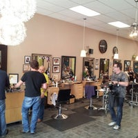 Photo taken at Split Endz Hair and Nails by Eric W. on 10/26/2012