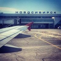 Photo taken at Tolmachevo International Airport (OVB) by Андрей М. on 6/24/2013