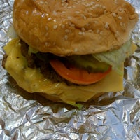Photo taken at Five Guys by Russ C. on 4/16/2013