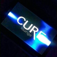 Photo taken at Cure Lounge by TeLisa D. on 4/28/2013