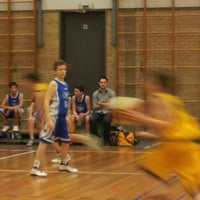 Photo taken at Sporthal Cleijn Duin by Nico d. on 2/16/2013