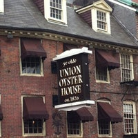 Photo taken at Union Oyster House by Samantha and Mike T. on 12/8/2012