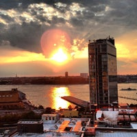Photo taken at Plunge Rooftop Bar & Lounge by Sebastien C. on 8/2/2013