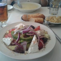 Photo taken at Greek Islands Taverna by Olena S. on 2/17/2013