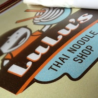 Photo taken at Lulu's Thai Noodle Shop by Eric D. on 3/25/2013