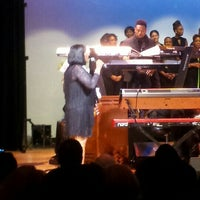 Photo taken at Colden Center Auditorium by Nia on 10/19/2015