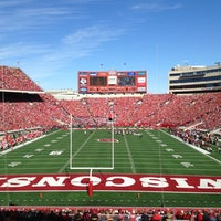 Photo taken at Camp Randall Stadium by Camille L. on 10/20/2012