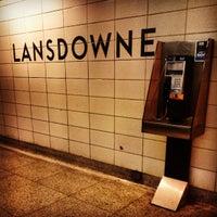 Photo taken at Lansdowne Subway Station by All About Drama on 3/9/2013