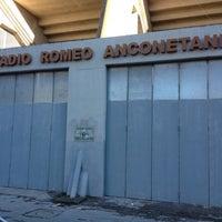 Photo taken at Arena Garibaldi - Stadio Romeo Anconetani by Pavel A. on 12/3/2012