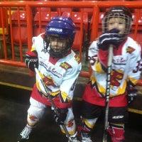 Photo taken at Blackburn Ice Arena by Jake on 11/17/2012
