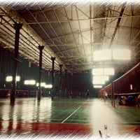 Photo taken at สนามแบดมินตันสาธุ 57 by Nannie N. on 3/31/2013