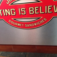 Photo taken at Jimmy John's by Anthony V. on 2/1/2014
