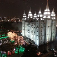 Photo taken at Temple Square by Tom C. on 12/9/2012