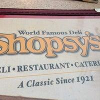 Photo taken at Shopsy's Deli by Nevdogg on 10/6/2012