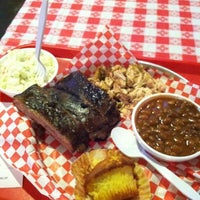 Photo taken at Dick's Bodacious BBQ by Marcus W. on 12/4/2012