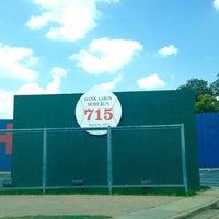 Photo taken at Hank Aaron 715 Home Run Marker by Helene S. on 7/31/2015