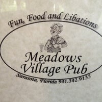 Photo taken at Meadows Village Pub by Shane G. on 5/31/2013