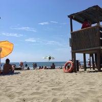 Photo taken at Spiaggia Libera by Giuliano M. on 6/29/2015