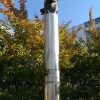 Photo taken at Frank Zappa Statue by Lizett V. on 10/27/2013