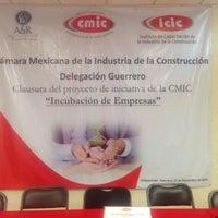 Photo taken at Camara Mexicana de la Industria de la Construcción by Aldro A. on 11/21/2015
