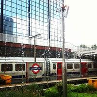 Photo taken at Uxbridge London Underground Station by Romain D. on 8/5/2012