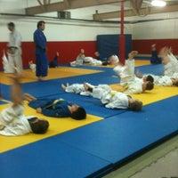Photo taken at Dojo Club central de Judo by Tina R. on 11/22/2012