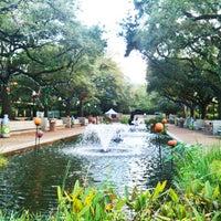 Photo taken at Houston Zoo by Kelly M. on 10/24/2012