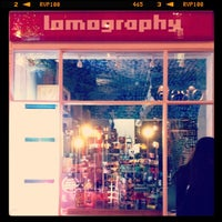 Photo taken at Lomography Gallery Store by Isidro Q. on 11/11/2012