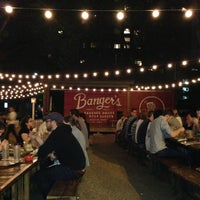 Photo taken at Banger's Sausage House & Beer Garden by Travis on 4/8/2013