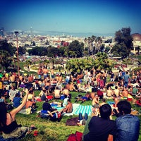 Photo taken at Mission Dolores Park by Danny L. on 5/5/2013
