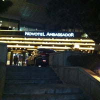 Photo taken at Novotel Ambassador Gangnam, Seoul by KRR S. on 2/18/2013