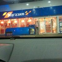 Photo taken at Газпромнефть АЗС № 1 by Alexander M. on 8/1/2013