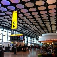 Photo taken at Terminal 4 by JW🌟 on 9/22/2012