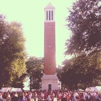 Photo taken at University of Alabama Quad by Erin G. on 10/19/2013