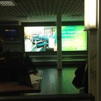 Photo taken at Пулково 2 Lounge by Rustam🍝 on 9/14/2012