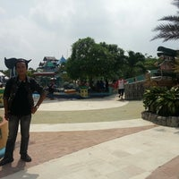 Photo taken at Labersa Water Park by Fauzi on 1/26/2014