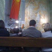 Photo taken at Eglise Saint Louis by Eric L. on 5/12/2013