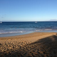 Photo taken at Kamaole Beach Park I by Yvonne B. on 2/1/2013