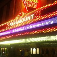 Photo taken at Paramount Center by Wayne M. on 1/8/2013