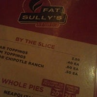 Photo taken at Fat Sully's Pizza by Chad on 7/1/2013
