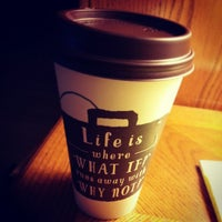 Photo taken at Caribou Coffee by Tina W. on 2/20/2013