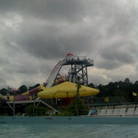 Photo taken at Jungle Rapids Family Fun Park by Abby D. on 9/16/2012