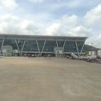 Photo taken at Runway-Chennai Airport by Shriram S. on 5/7/2013