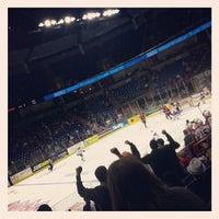 Photo taken at Spokane Veterans Memorial Arena by Lance K. on 2/7/2013