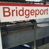 Photo taken at Bridgeport Train Station (BRP) - Metro North & Amtrak by Miggs C. on 12/28/2012