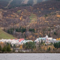 Photo taken at Mont Tremblant by Wagner S. on 10/19/2014
