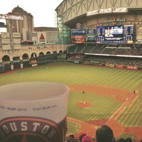 Photo taken at Minute Maid Park by Morgan M. on 4/20/2013
